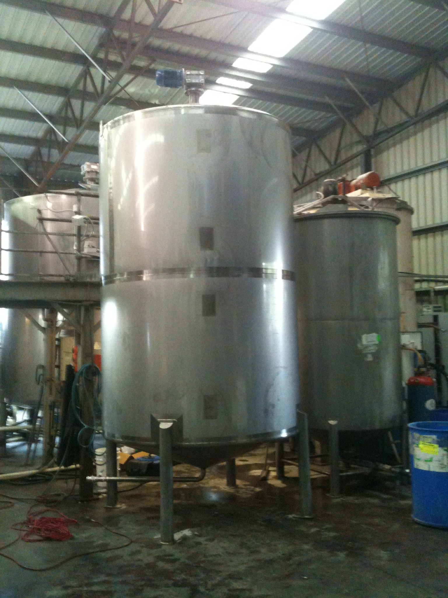 Mixing Made Easy With Stainless Steel Mixing Tank Design